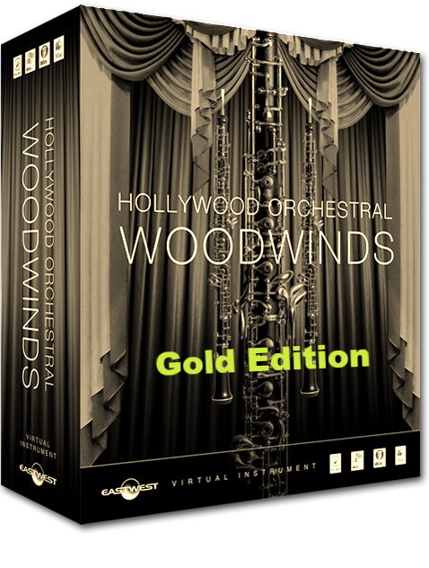 EastWest HOLLYWOOD WOODWINDS GOLD