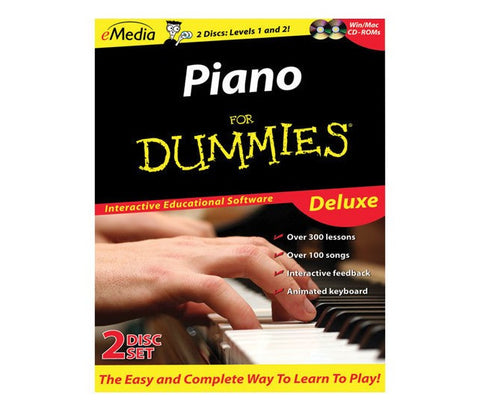 Piano For Dummies Deluxe - Macintosh