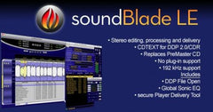 soundBlade 2-ch. Mastering Workstation for Mac.