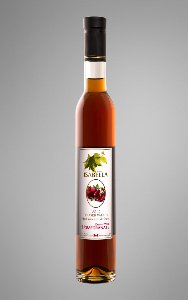 Pomegranate Dessert Wine 2013 (12-pack)