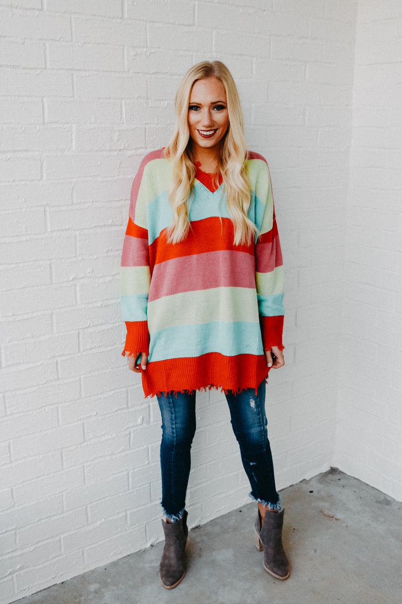 Life in Color Sweater