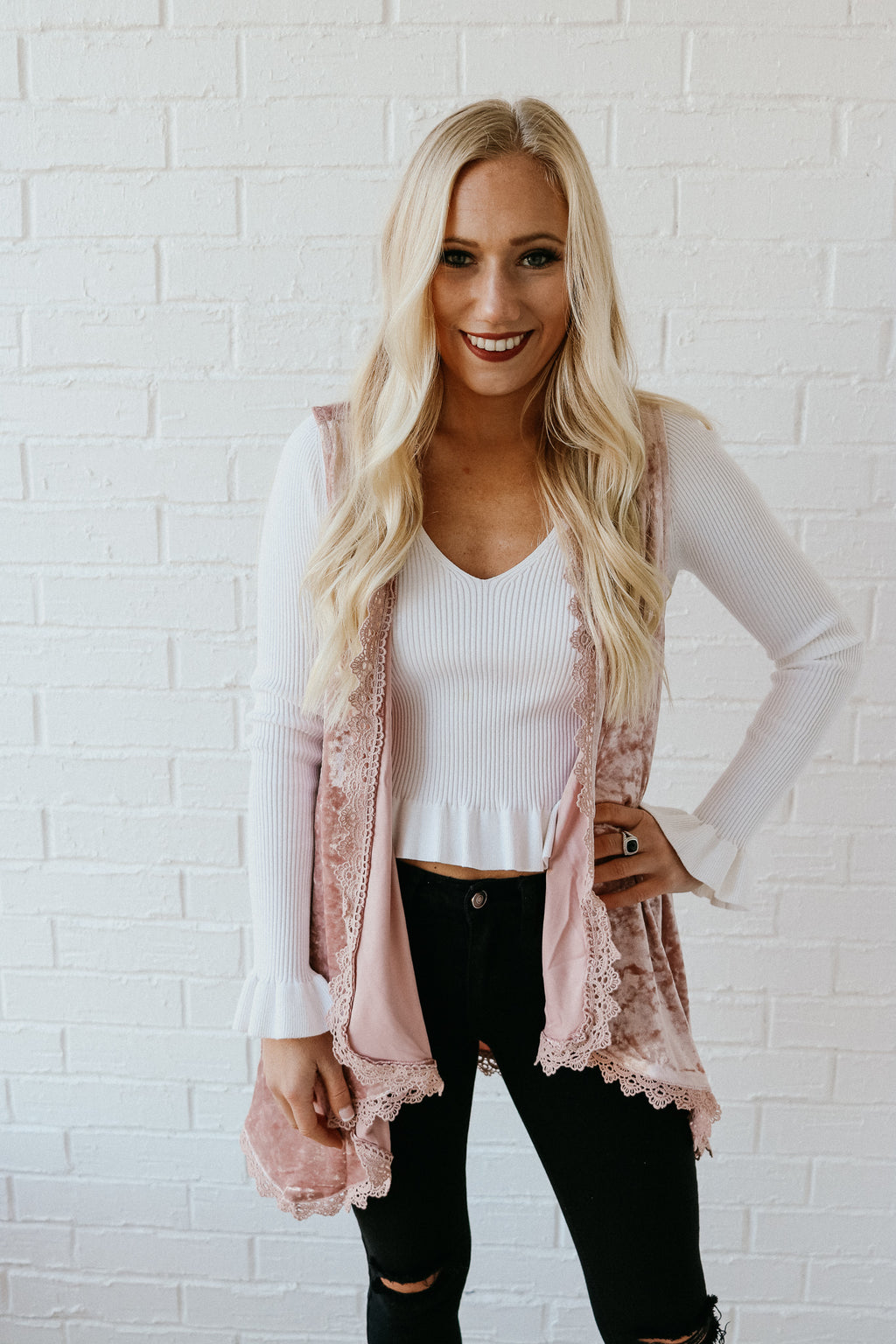 Love At First Sight Cardigan - Pink