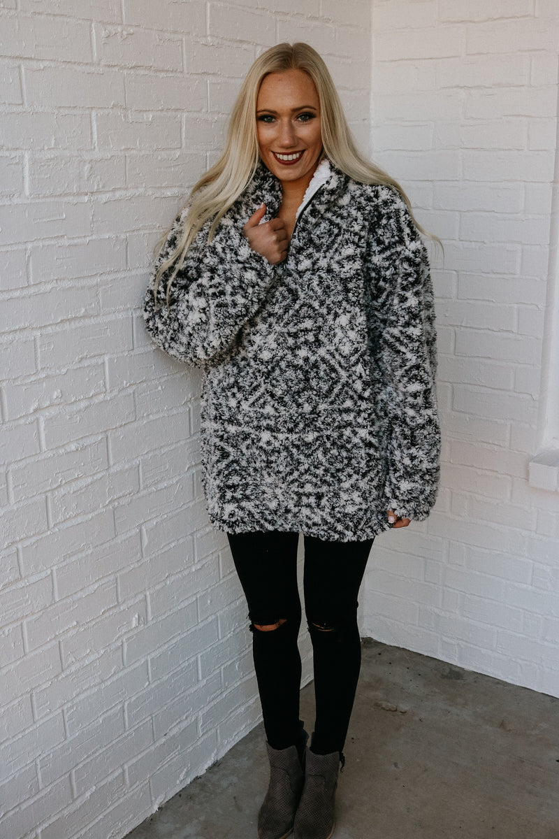 By The Fire Sherpa Pullover