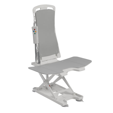 Bellavita Auto Bath Tub Chair Seat Lift, Gray