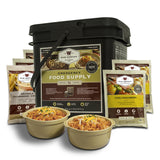 Grab N Go Bucket 56 Serving Breakfast and Entrée Food Kit