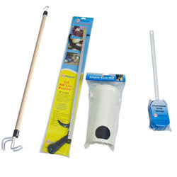 "Hip Kit w/ 26"" Reacher, Hourglass Sponge, Flex Sock Aid, 27"" Dressing Stick"