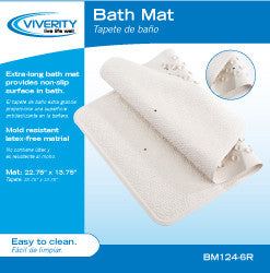 Roscoe Bath Mat with Suction Cups