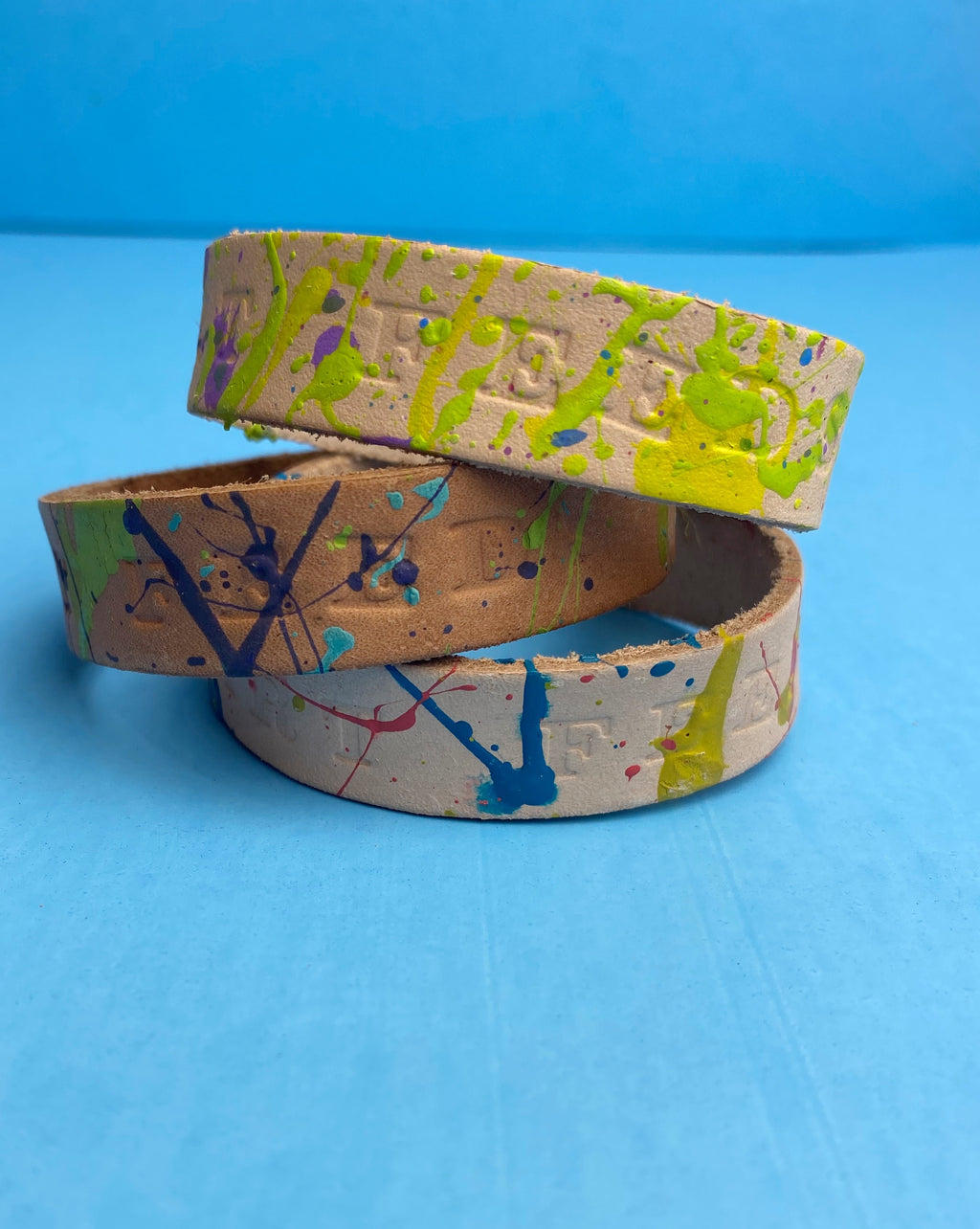 Original Leather Art Feeds Bracelet