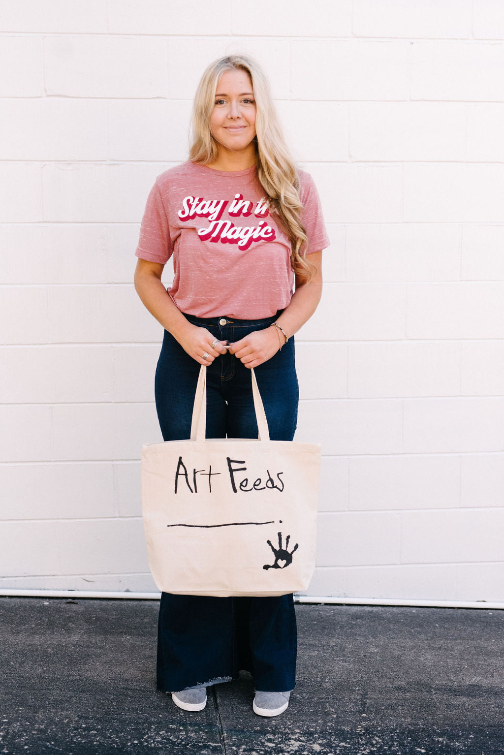Art Feeds Tote