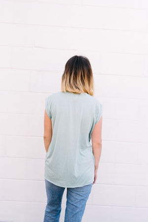 Cultivate Kindness Cap Sleeve Tee