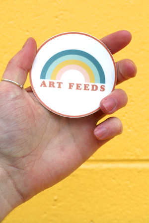 Art Feeds Sticker