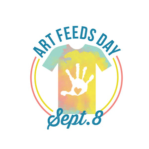 Art Feeds Day Tee 2017
