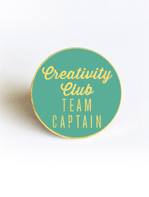 Creativity Club: Team Captain Flair