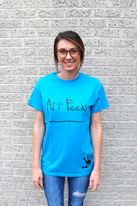 Art Feeds Original Blue Tee