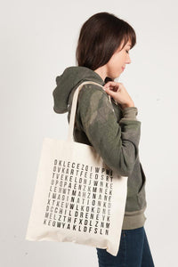 Word Search Tote