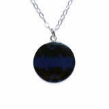 Thin Blue Line Police Support Lace Necklace