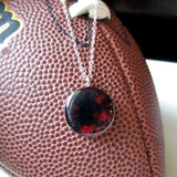 Red and Black GameDay Necklace