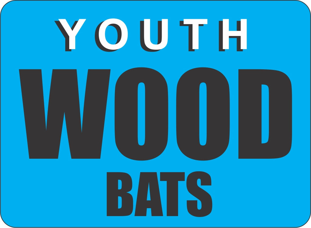 Youth wood bats
