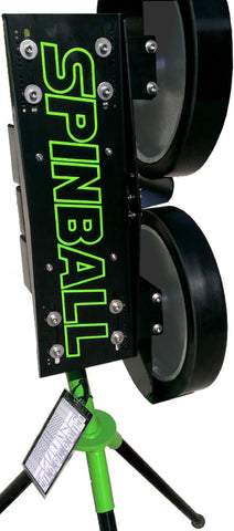 Spinball Wizard Two Wheel Pitching Machine - Texas Bat Company