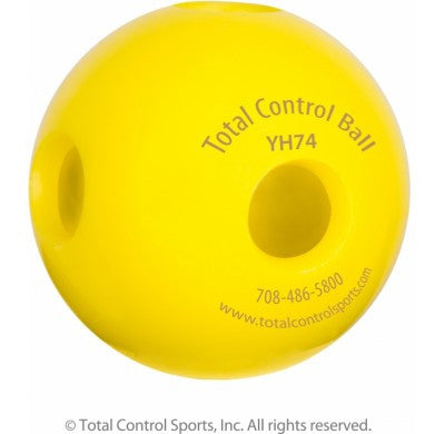Total Control Balls - Wiffle Style Hole Ball 7.4 - Texas Bat Company