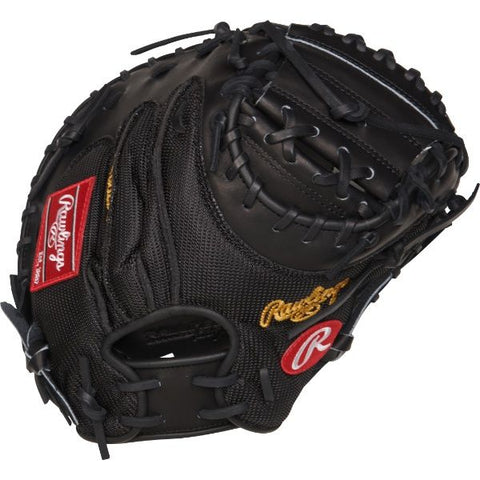 "Heart of the Hide Yadier Molina 34"" Game Day Catcher Mitt - Texas Bat Company"