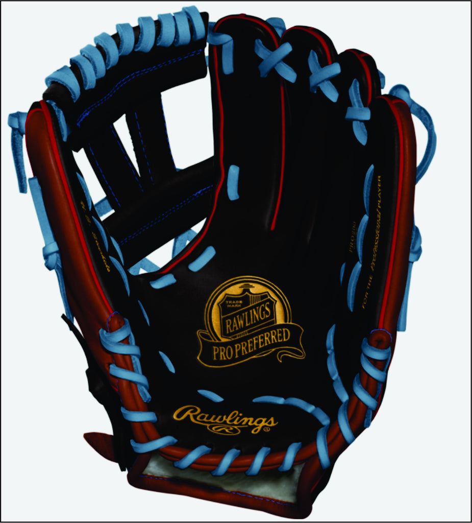 Rawlings Pro Preferred Custom Fielding Glove - Texas Bat Company