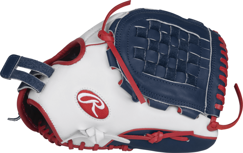 "Rawlings LIBERTY ADVANCED COLOR SERIES 12.5"" FASTPITCH GLOVE - RLA120-3WNS-3/0 - Texas Bat Company"