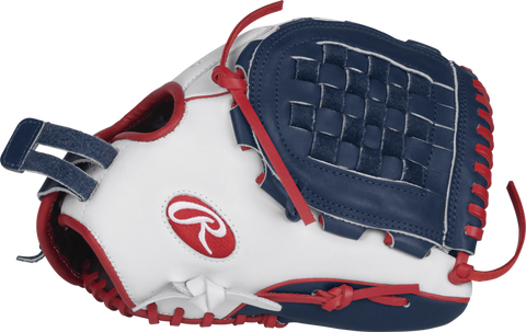 "Rawlings LIBERTY ADVANCED COLOR SERIES 12.5"" FASTPITCH GLOVE - RLA120-3WNS-3/0"