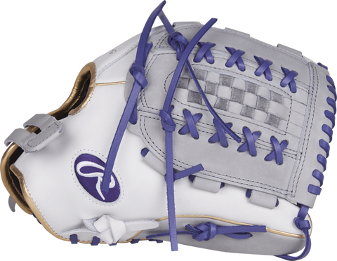 "Rawlings LIBERTY ADVANCED COLOR SERIES 12.5"" FASTPITCH GLOVE - RLA125-18WPU-3/0 - Texas Bat Company"