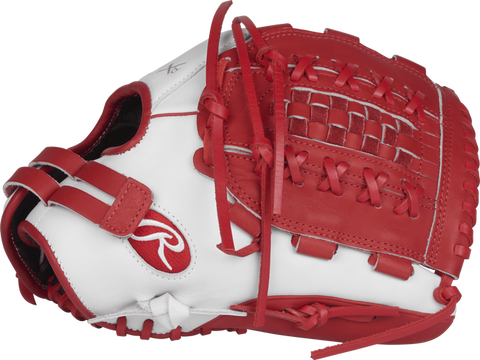 Rawlings LIBERTY ADVANCED COLOR SERIES 12.5 IN FASTPITCH OUTFIELD GLOVE - RLA125-18WS