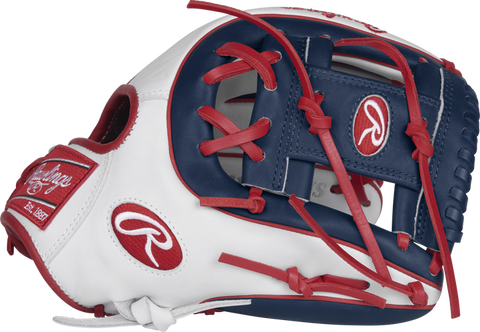 Rawlings LIBERTY ADVANCED COLOR SERIES 11.75 IN FASTPITCH GLOVE - RLA315SB-2WNS-3/0