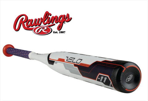2018 Rawlings VELO Fastpitch Softball (-11) #FP8V11 - Texas Bat Company