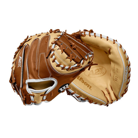 "2020 A2K M1 33.5"" BASEBALL CATCHER'S MITT"