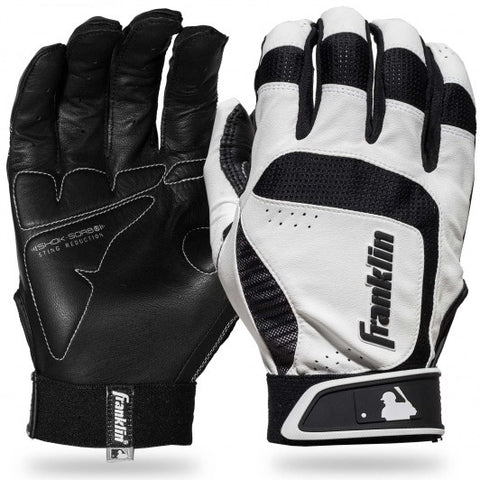 FRANKLIN SHOK-SORB NEO BATTING GLOVES - Adult - Texas Bat Company