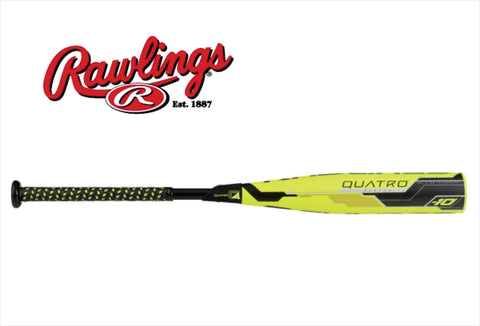 2018 Rawlings Quatro - (-10) Senior League UT8Q34 - Texas Bat Company