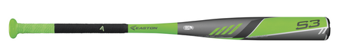 Easton S3 -13 Youth Baseball Bat - Texas Bat Company