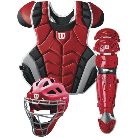 Wilson C1K CATCHERS GEAR KIT - ADULT - Texas Bat Company