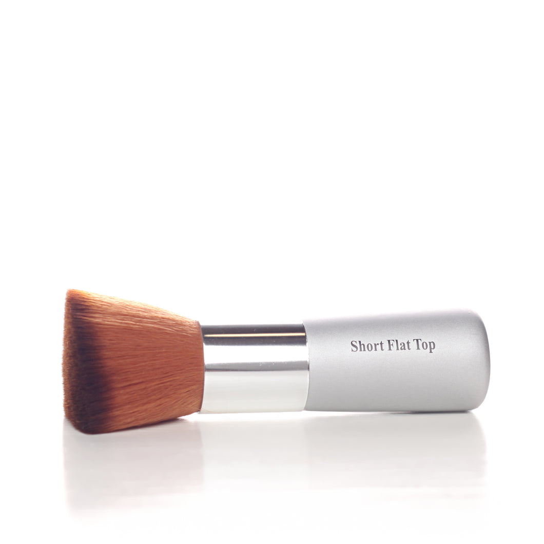 Flat-top foundation brush