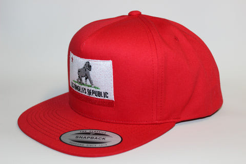 King of L.A. Red Snapback