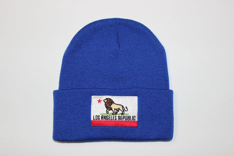 Pride of L.A. Beanie-Royal Blue