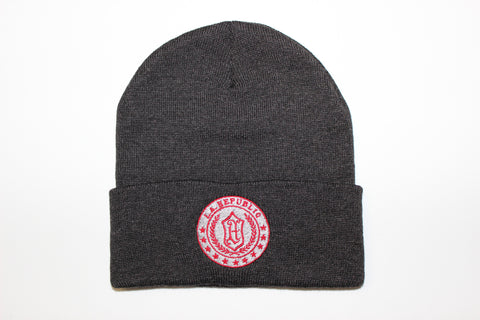 Trademark Beanie-Charcoal Grey