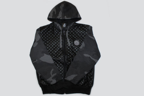 Men's Trademark Black Ops Camo Jacket-Black