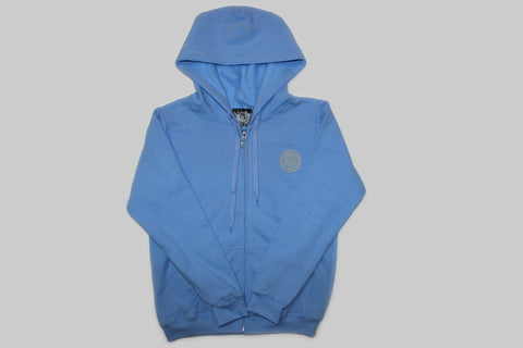 Women's Trademark Carolina Blue Zip Hoodie