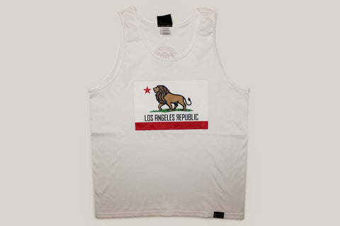 Pride of L.A. Limited Edition White Tank Top