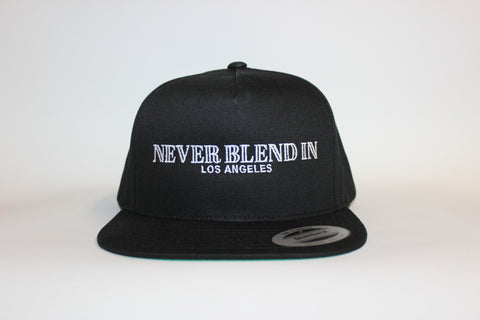 Never Blend In Los Angeles Snapback-Black