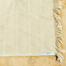 Load image into Gallery viewer, beige terry turkish towels