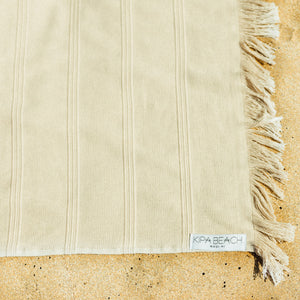 beige terry turkish towels