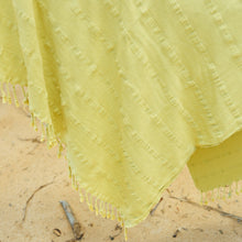 Load image into Gallery viewer, greenish yellow towel
