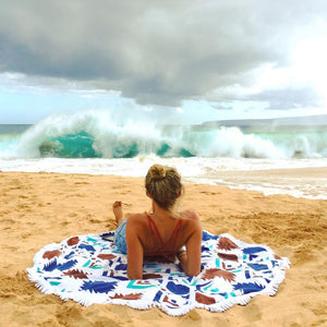 best round beach towels