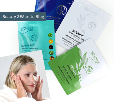 How to Get Professional Facial Results At-Home with Seaweed-Infused Sheet Masks